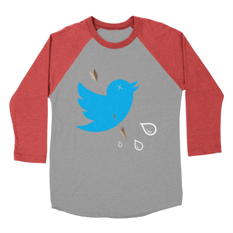 RIP Twitter Women's Baseball Triblend T-Shirt by artichoke's Artist Shop