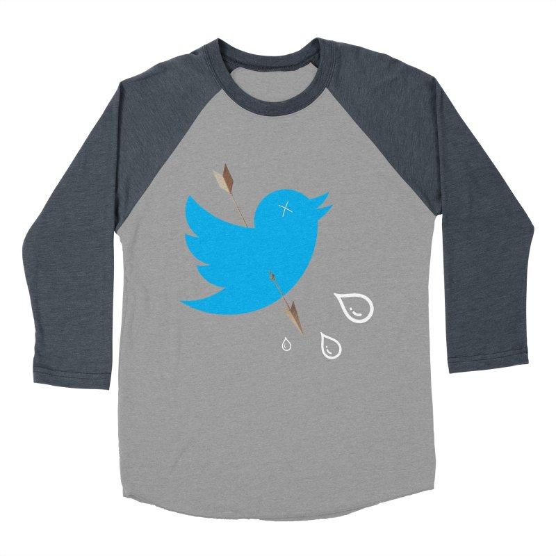 RIP Twitter Men's Baseball Triblend T-Shirt by artichoke's Artist Shop