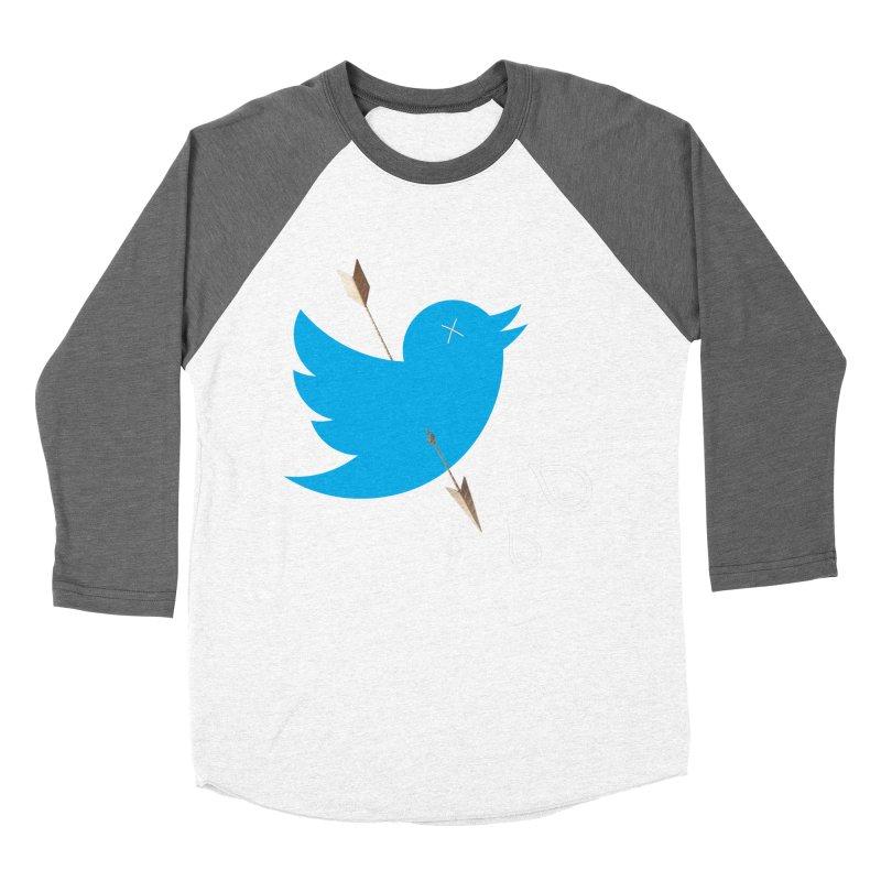 RIP Twitter Men's Baseball Triblend Longsleeve T-Shirt by artichoke's Artist Shop