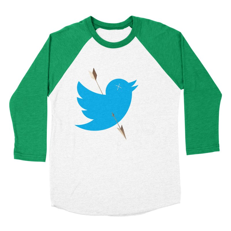 RIP Twitter Men's Baseball Triblend T-Shirt by artichoke's Artist Shop