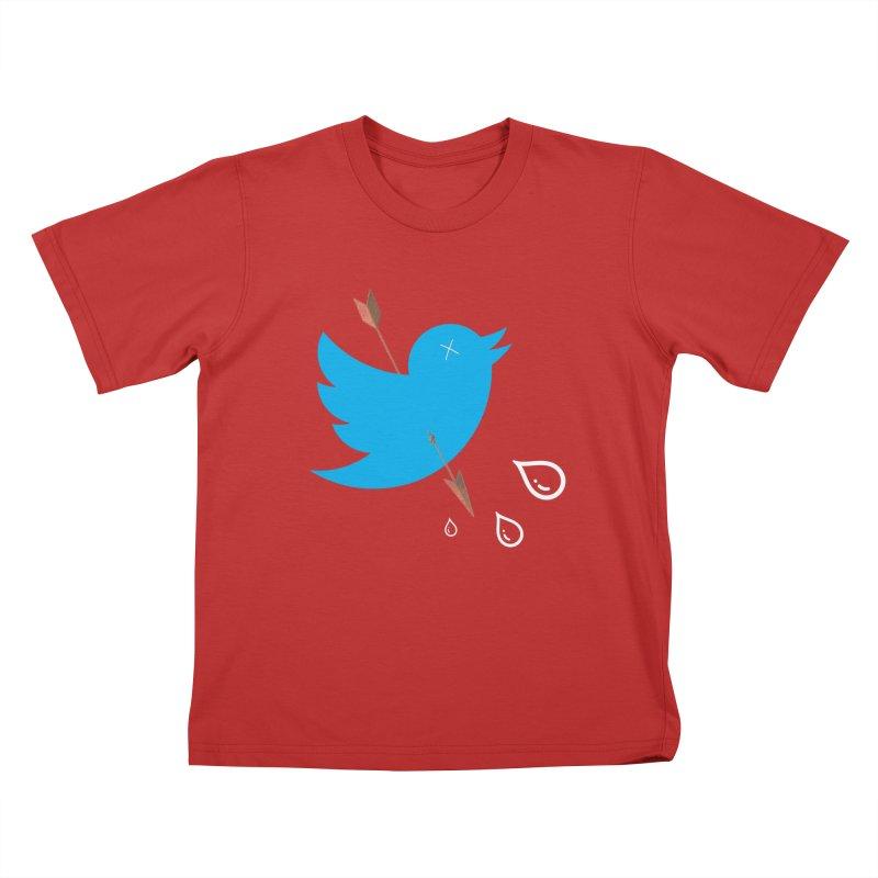RIP Twitter Kids T-Shirt by artichoke's Artist Shop