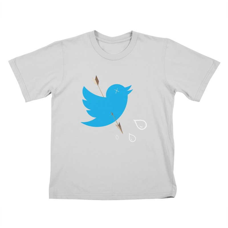 RIP Twitter Kids T-Shirt by artichoke's Artist Shop