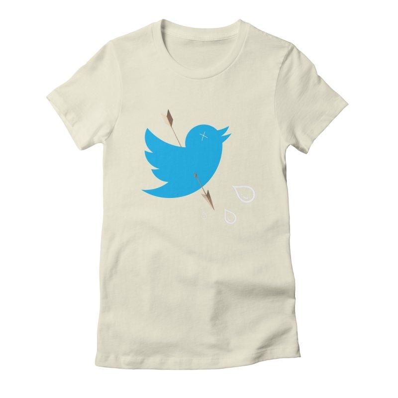 RIP Twitter Women's Fitted T-Shirt by artichoke's Artist Shop