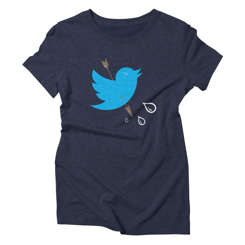 RIP Twitter Women's Triblend T-Shirt by artichoke's Artist Shop
