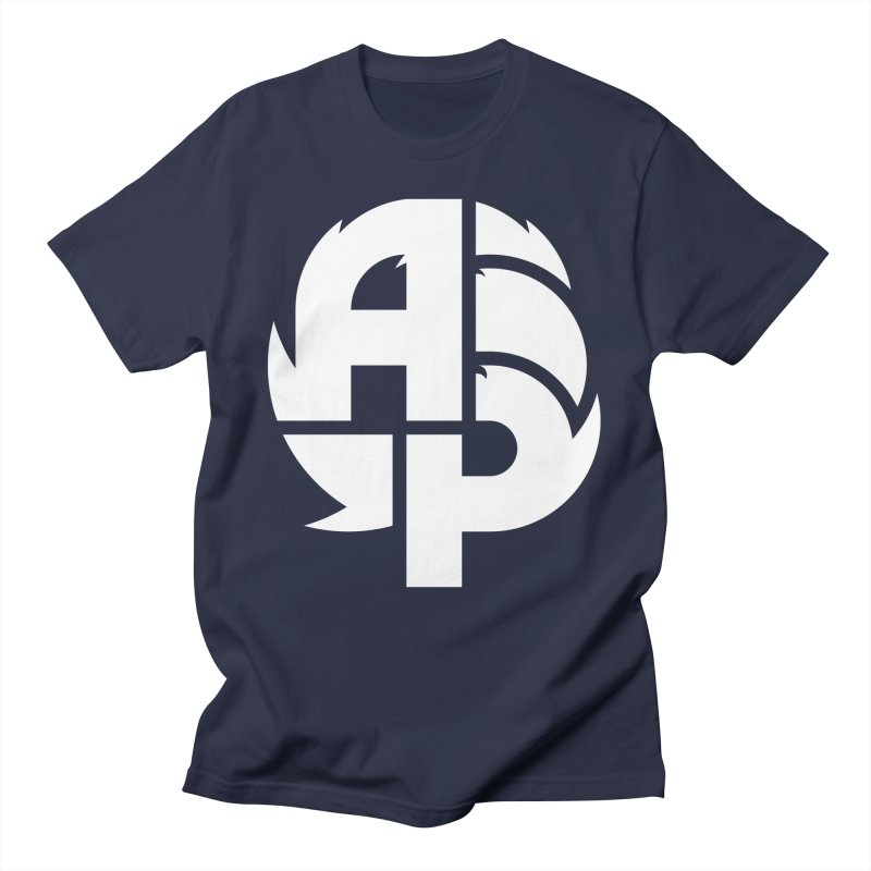 Artichoke Presents Big White Logo Men's T-Shirt by artichokepresents's Artist Shop