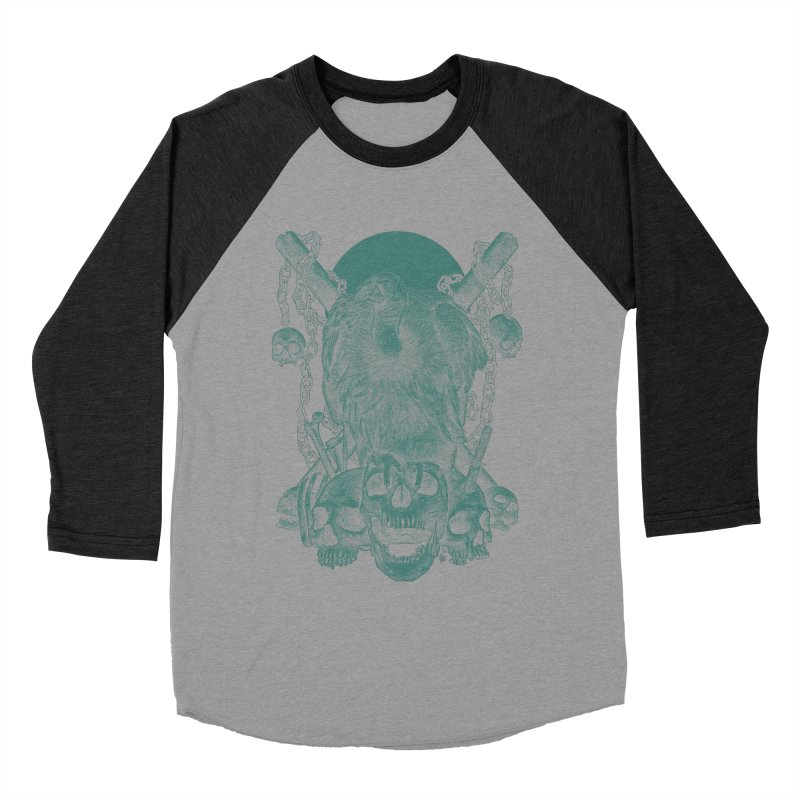 Abracadaver Men's Baseball Triblend T-Shirt by PIK | SPIK | LODER