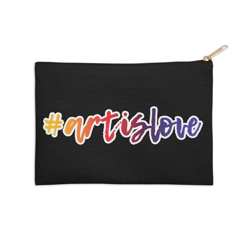 #artislove Accessories Zip Pouch by Art is Love Artist Shop