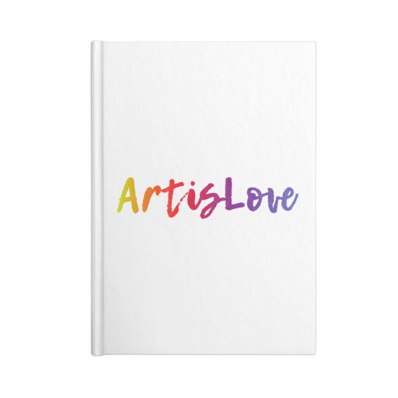 Art is Love Accessories Notebook by Art is Love Artist Shop