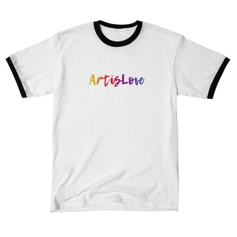 Art is Love Dark Women's T-Shirt by Art is Love Artist Shop