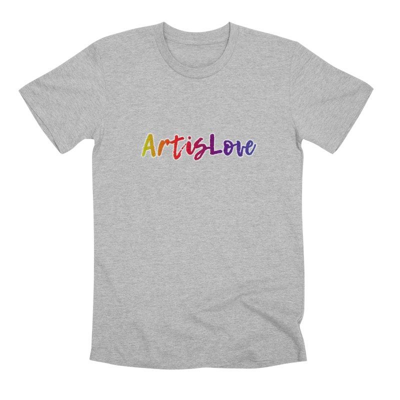 Art is Love Dark Men's T-Shirt by Art is Love Artist Shop