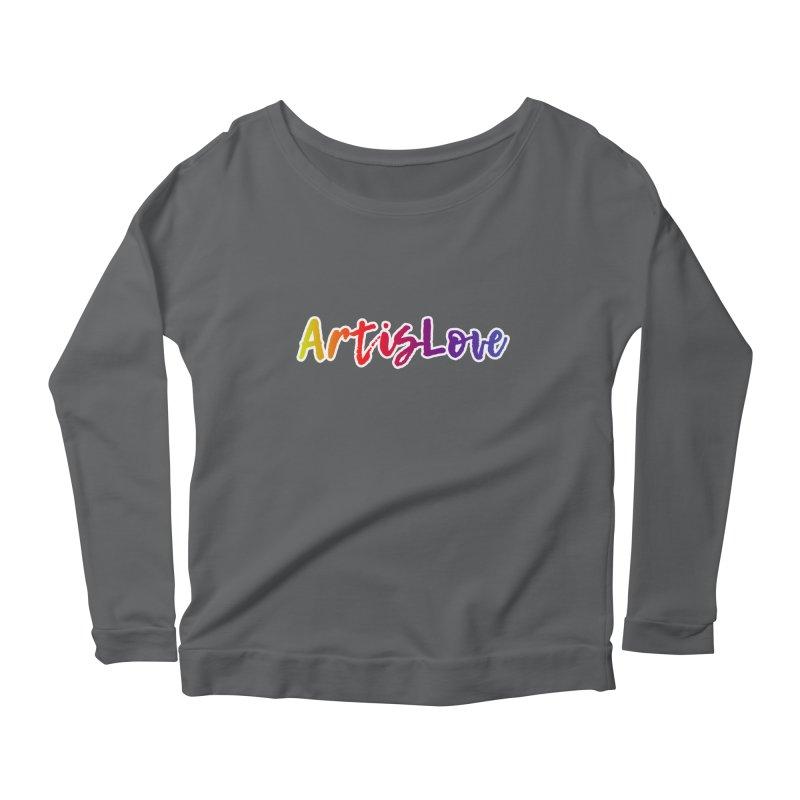 Art is Love Dark Women's Longsleeve T-Shirt by Art is Love Artist Shop
