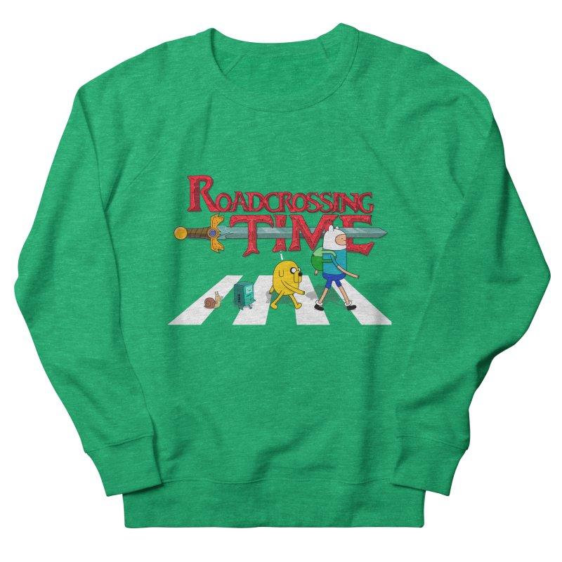 Roadcrossing time Women's Sweatshirt by artist's Artist Shop