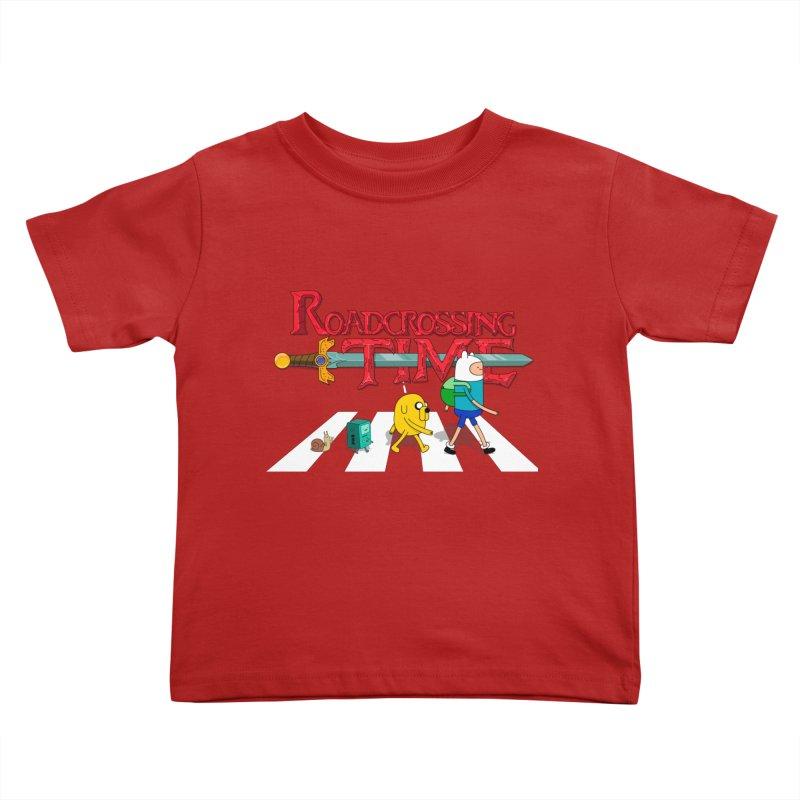 Roadcrossing time Kids Toddler T-Shirt by artist's Artist Shop