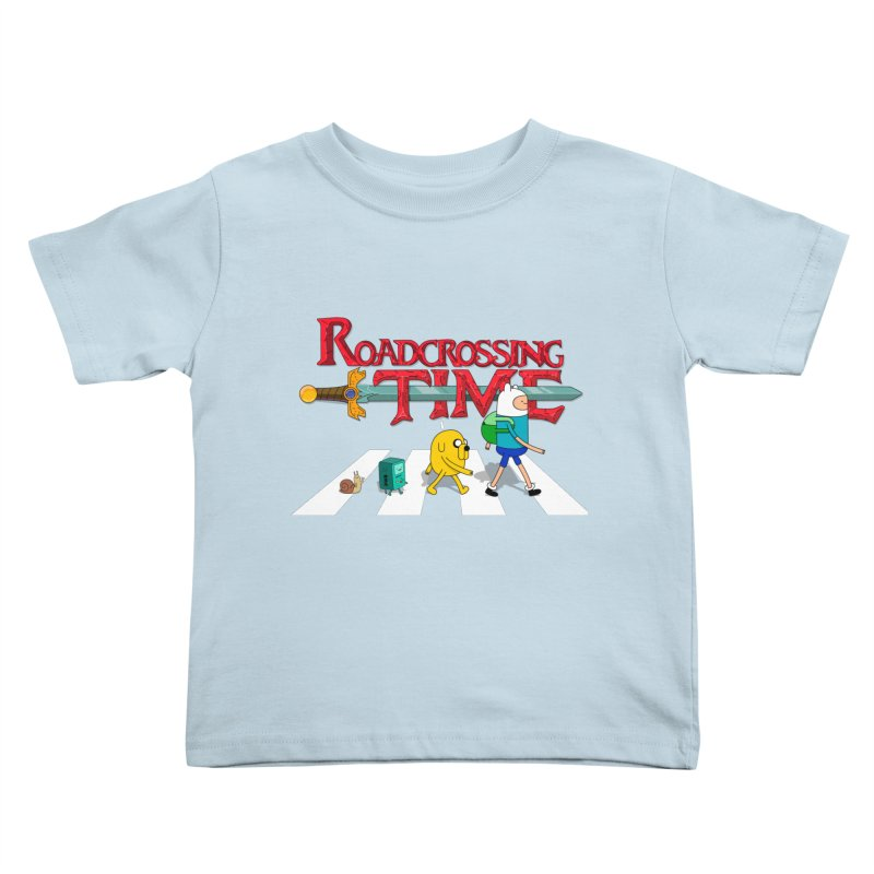 Roadcrossing time Kids Toddler T-Shirt by artist's Artist Shop