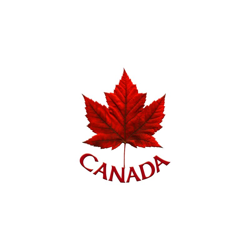 Canada Maple Leaf Souvenirs by Artist Designer Kim Hunter's Threadless Shop