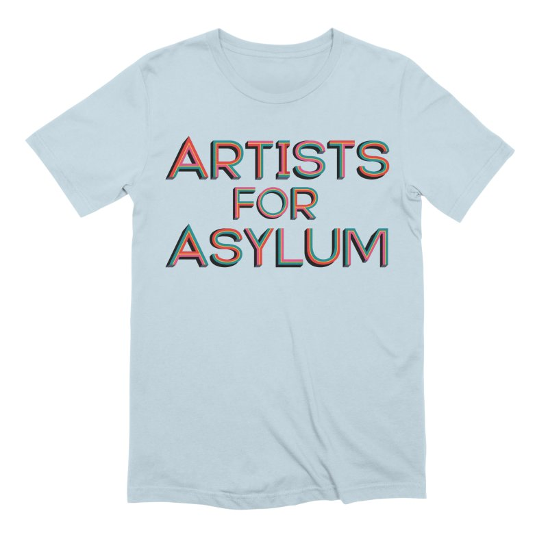 Artists For Asylum Logo Men's T-Shirt by Artists For Asylum