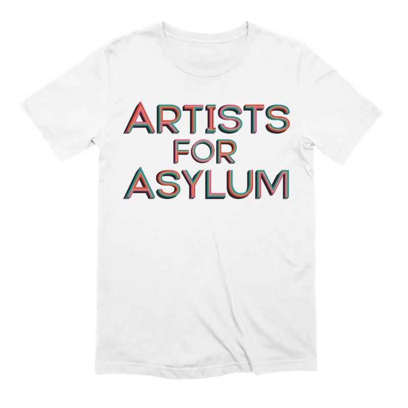 Artists For Asylum Logo Men's Extra Soft T-Shirt by Artists For Asylum