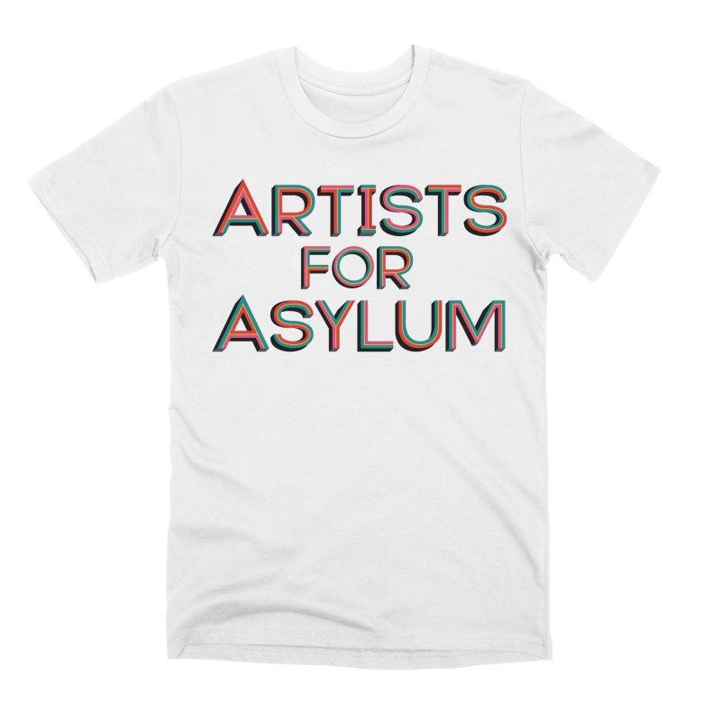 Artists For Asylum Logo Men's Premium T-Shirt by Artists For Asylum