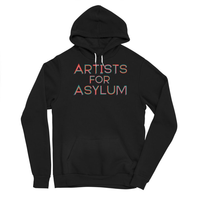 Artists For Asylum Logo Men's Pullover Hoody by Artists For Asylum