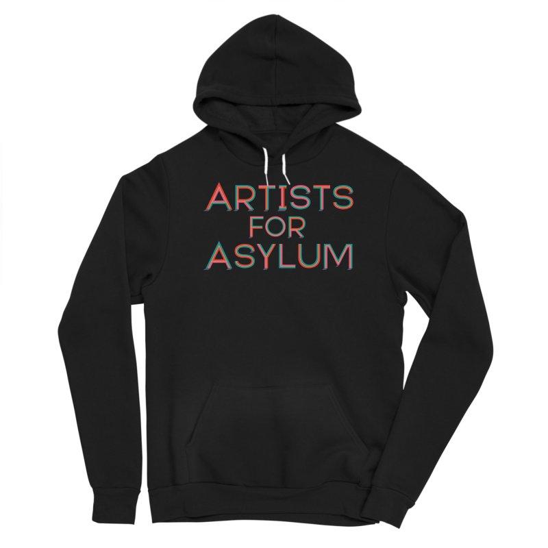 Artists For Asylum Logo Women's Sponge Fleece Pullover Hoody by Artists For Asylum