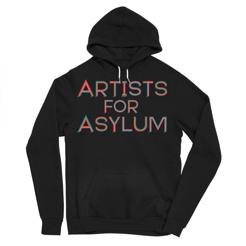 Artists For Asylum Logo Men's Sponge Fleece Pullover Hoody by Artists For Asylum