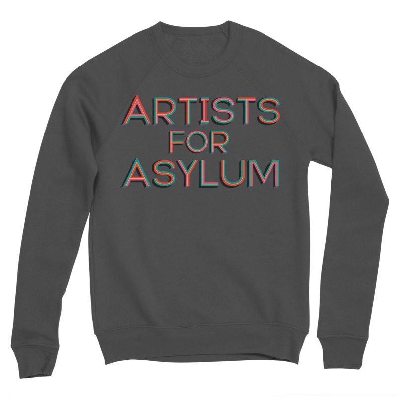 Artists For Asylum Logo Women's Sponge Fleece Sweatshirt by Artists For Asylum