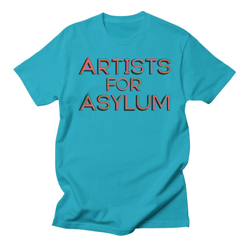 Artists For Asylum Logo Men's Regular T-Shirt by Artists For Asylum