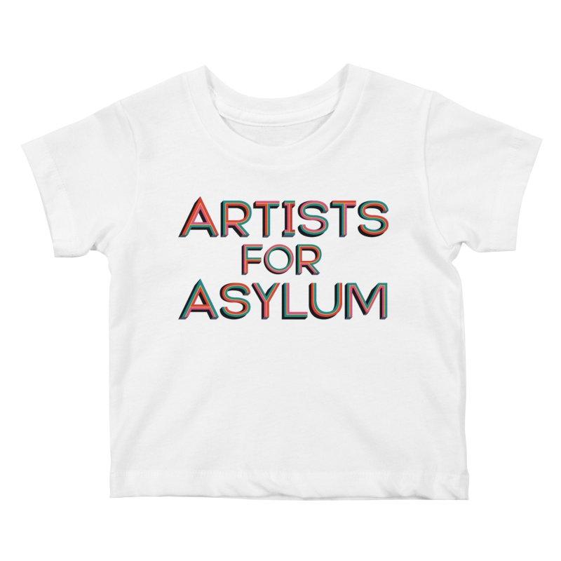Artists For Asylum Logo Kids Baby T-Shirt by Artists For Asylum