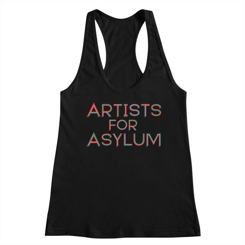 Artists For Asylum Logo Women's Tank by Artists For Asylum