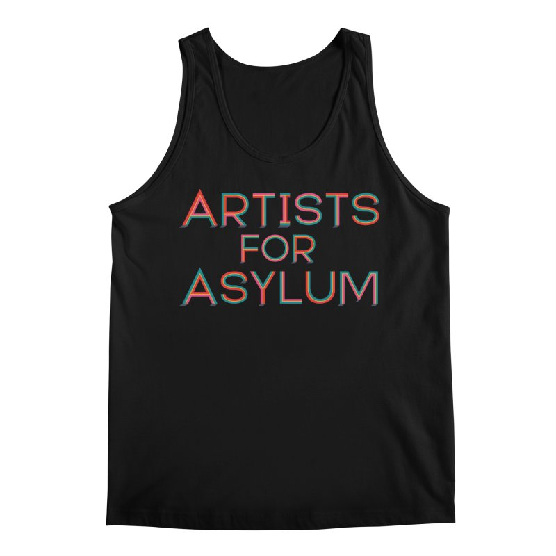 Artists For Asylum Logo Men's Regular Tank by Artists For Asylum