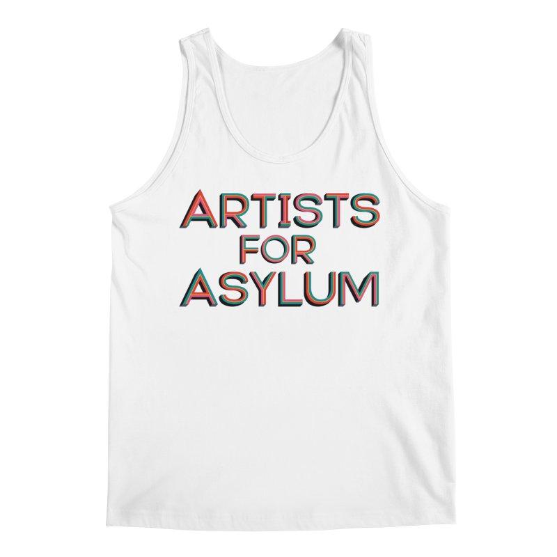 Artists For Asylum Logo Men's Regular Tank by Artists For Asylum