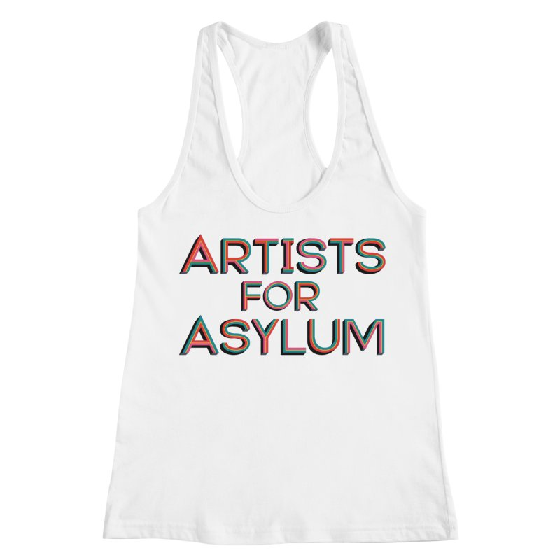 Artists For Asylum Logo Women's Racerback Tank by Artists For Asylum