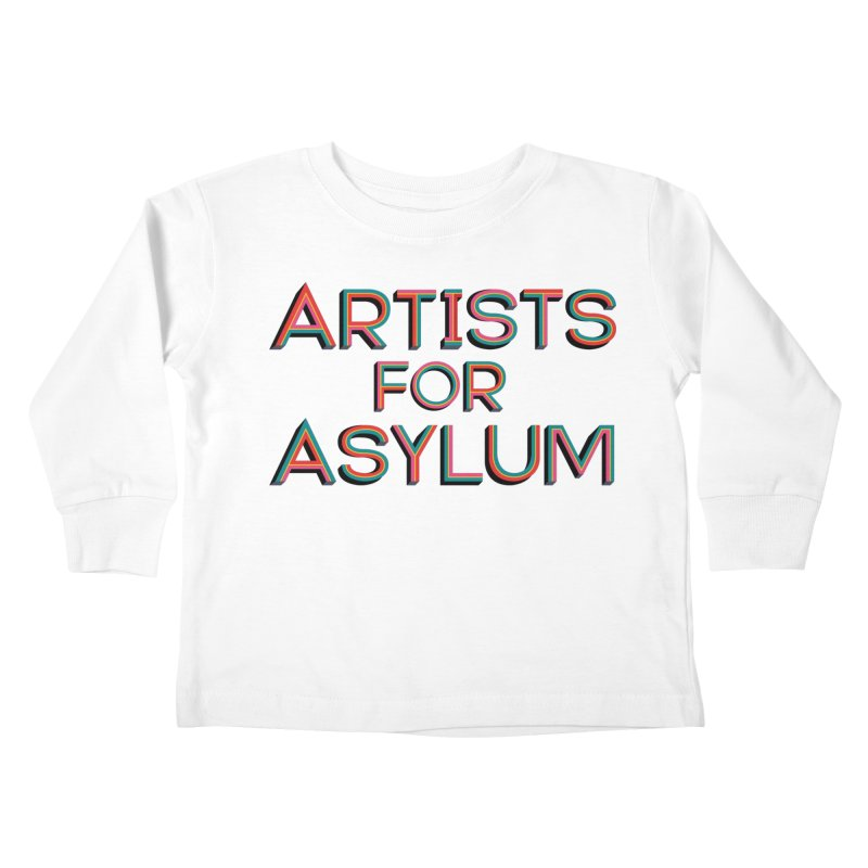 Artists For Asylum Logo Kids Toddler Longsleeve T-Shirt by Artists For Asylum