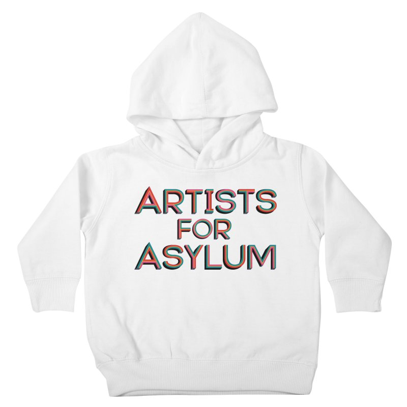 Artists For Asylum Logo Kids Toddler Pullover Hoody by Artists For Asylum