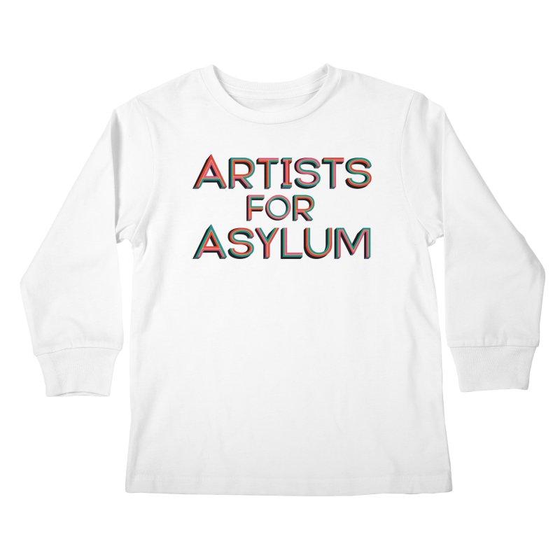 Artists For Asylum Logo Kids Longsleeve T-Shirt by Artists For Asylum