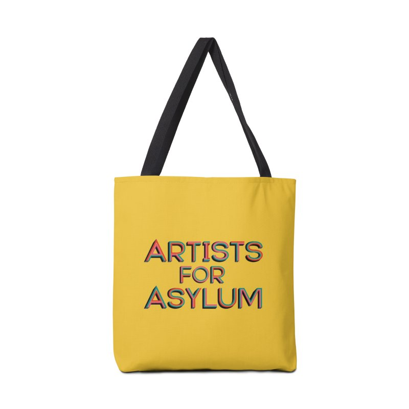 Artists For Asylum Logo Accessories Bag by Artists For Asylum