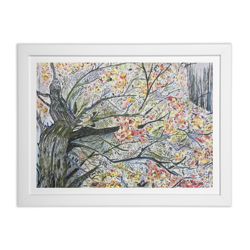 Cherry Tree by Lisa Ray Home Framed Fine Art Print by Artists For Asylum