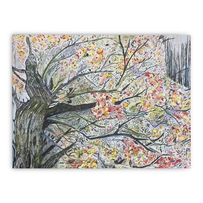Cherry Tree by Lisa Ray Home Stretched Canvas by Artists For Asylum