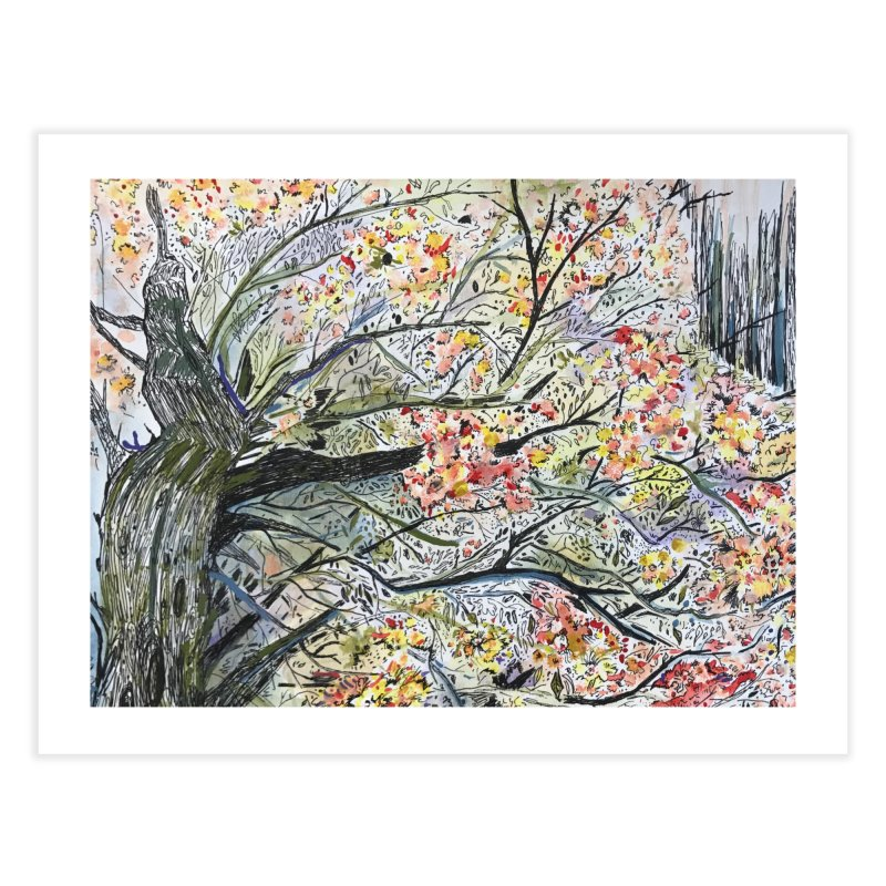 Cherry Tree by Lisa Ray Home Fine Art Print by Artists For Asylum