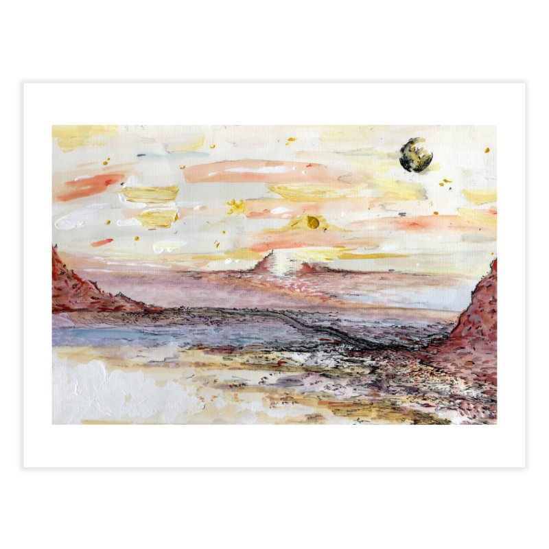 Salt Flats by Lisa Ray Home Fine Art Print by Artists For Asylum