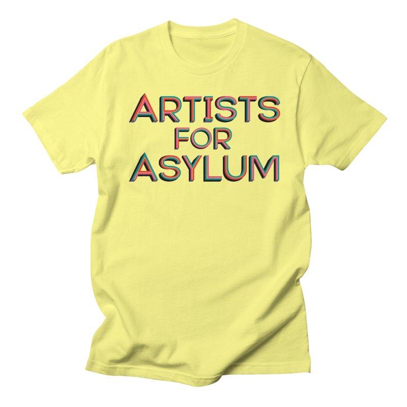 Artists for Asylum Shirt Men's T-Shirt by Artists For Asylum