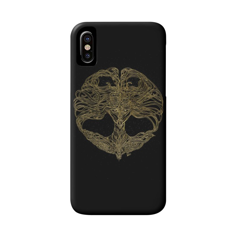 Cosmic Medusa Accessories Phone Case by artistsjourney's Artist Shop