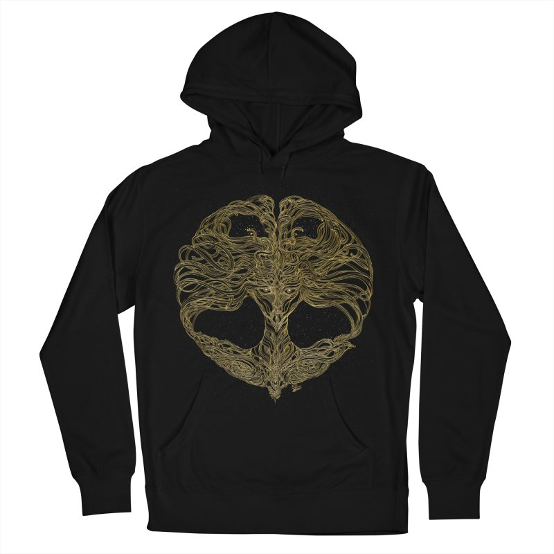 Cosmic Medusa Women's French Terry Pullover Hoody by artistsjourney's Artist Shop