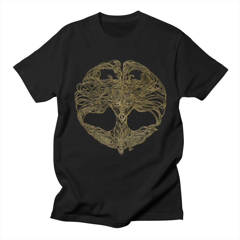 Cosmic Medusa Men's Regular T-Shirt by artistsjourney's Artist Shop