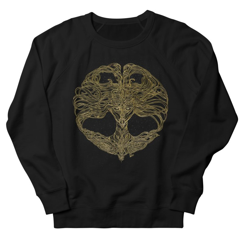 Cosmic Medusa Men's French Terry Sweatshirt by artistsjourney's Artist Shop