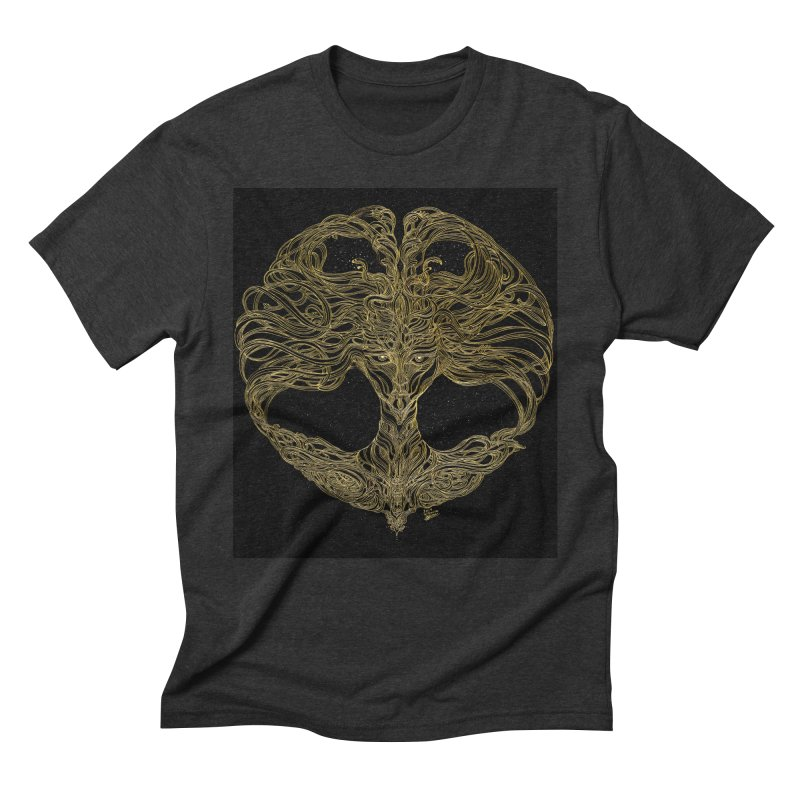 Cosmic Medusa Men's Triblend T-Shirt by artistsjourney's Artist Shop