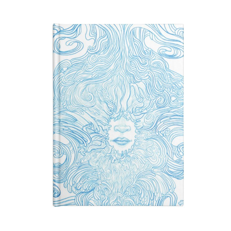 Rapture Accessories Lined Journal Notebook by artistsjourney's Artist Shop