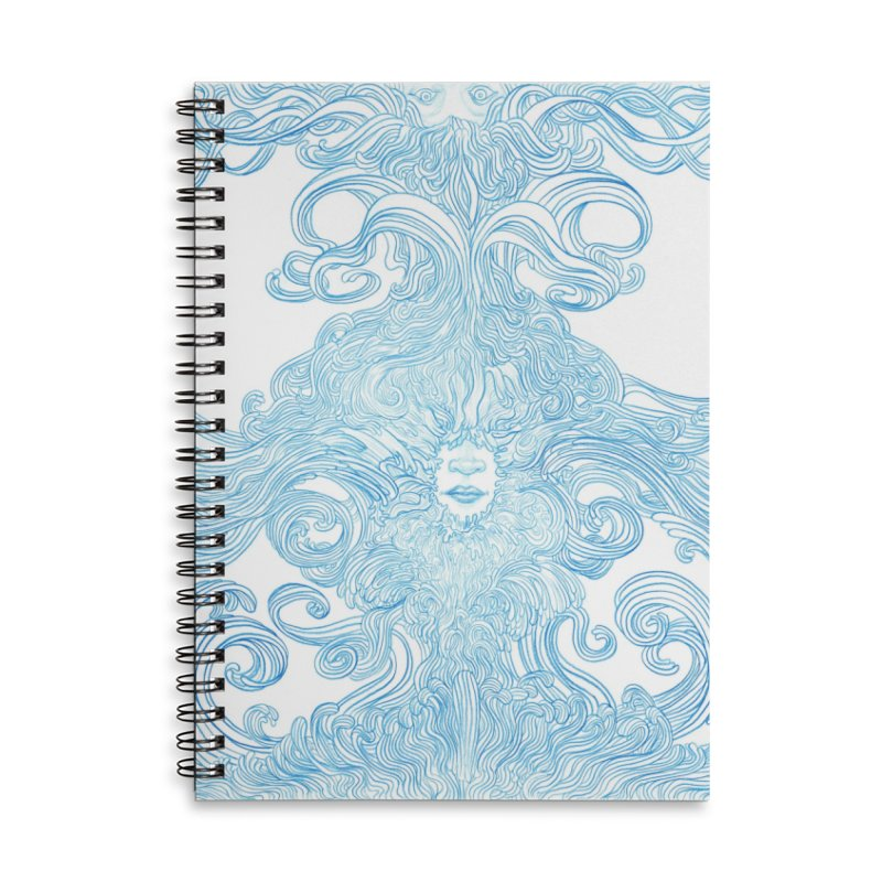 Rapture Accessories Lined Spiral Notebook by artistsjourney's Artist Shop