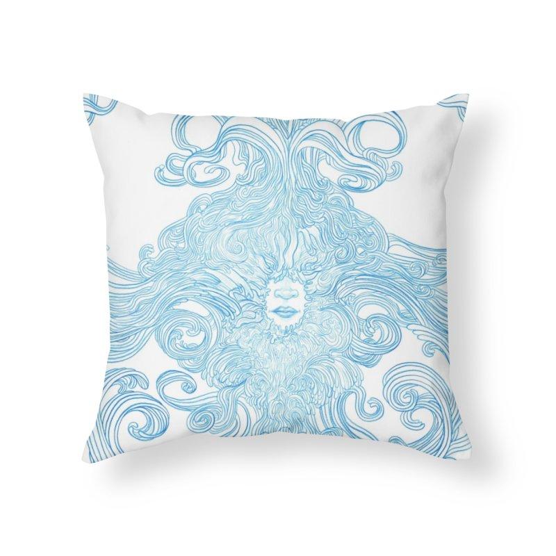 Rapture Home Throw Pillow by artistsjourney's Artist Shop