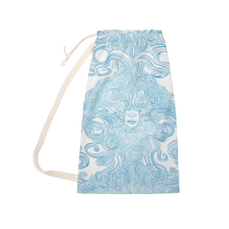 Rapture Accessories Laundry Bag Bag by artistsjourney's Artist Shop